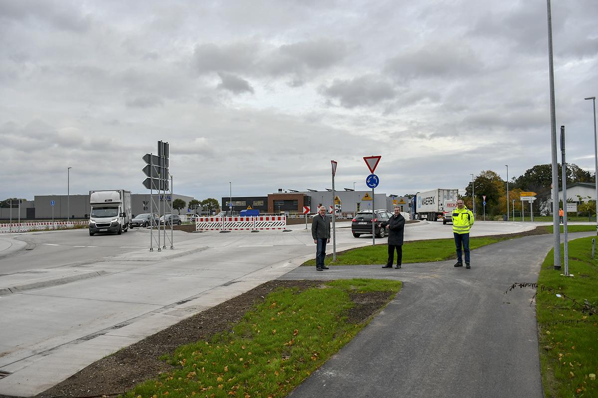 20-Kreisverkehr B214/Dinklager Straße